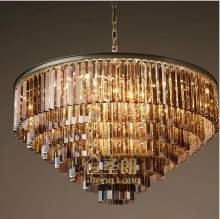 Люстра Odeon Glass Fringe Chandelier