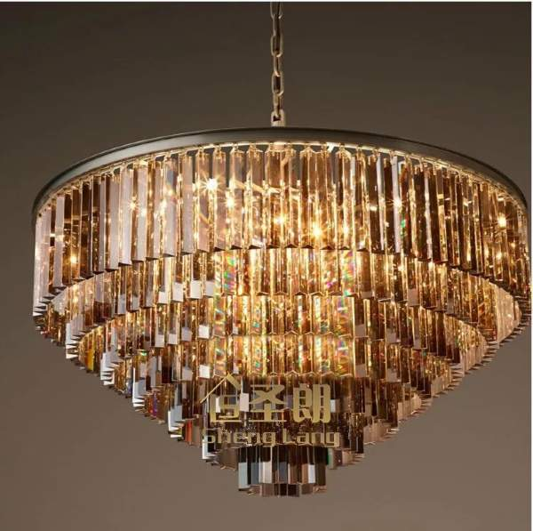 Люстра Odeon Glass Fringe Chandelier Люстра Odeon Glass Fringe Chandelier